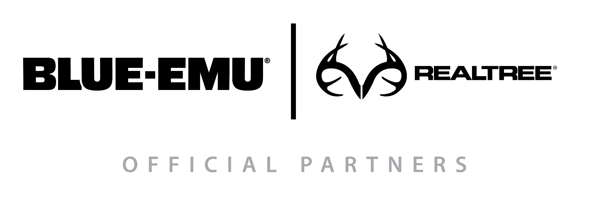 Blue-Emu and Realtree logos for Realtree Partnership